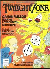 Twilight Zone V 5 # 3 1985 Science Fiction Horror Magazine Hp Lovecraft Wilson