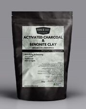 Activated Charcoal Bentonite Clay Lemon Myrtle toothpaste face mask cleanser