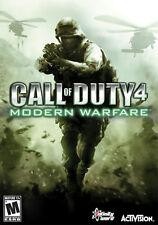 Call of Duty 4 Modern Warfare Reflex Edition Game Wii