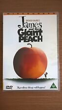 James And The Giant Peach (1996) DVD