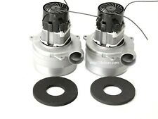 Engine two-stage 500 W 24 V DC Vacuum Industrial Wet bypass