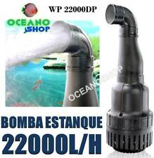 BOMBA AGUA 22000L/H 50W PARA ESTANQUE POTENTE JARDIN SUMERGIBLE DE CALIDAD