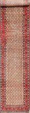 Vintage Paisley Botemir Handmade Geometric Long Runner Rug Oriental Carpet 3x14