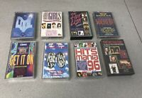 8 x  Greatest Greatest Hits Compilation Audio Cassette Tape Albums The Hit List