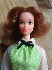 BARBIE DOLL STEFFIE FACE QUICK CURL KELLIE 1972 RED WIRED HAIR MOD ERA VINTAGE
