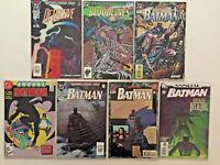 BATMAN DETECTIVE ANNUAL 80 PAGE GIANT SECRET FILES ORIGINS 17 COMICS LOT ARTGERM