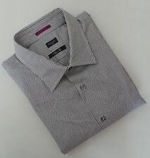 Paul Smith Shirt Size 17.5 EXTRA LARGE Purple Stripes