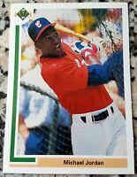 MICHAEL JORDAN 1991 Upper Deck SP1 Rookie Card RC Baseball Chicago White Sox $$