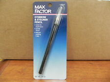 MAX FACTOR EYEBROW & EYELINER PENCIL 0.04 OZ BLACK NEW