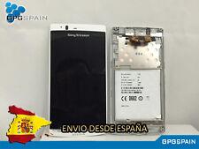 Repuesto de Pantalla LCD+Tactil+Marco Frontal para Sony Xperia ARC LT15i / LT18I