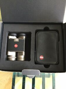 Leica Trinovid 8x20BC Titanium -boxed With Case
