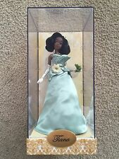 NEW Tiana Designer Doll Disney Store Princess and the Frog  LE 557/4000