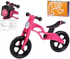 POPBIKE Children Kids Learning Balance Bike 12 EN71 & CE Certified Safety PINK