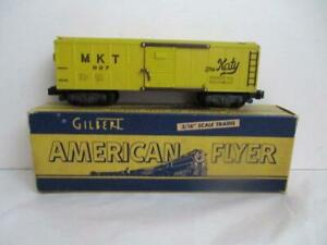American Flyer MKT Katy 937 S Gauge Boxcar w/Original Box