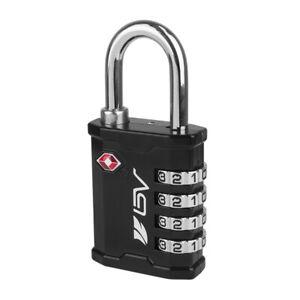 BV TSA Travel Lock 4 Digit Combination Luggage Padlock for Gun, Equipment Cases