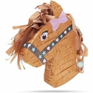 Horse, Pony Pinata for Girls Birthday Party (12 x 16 x 3 in)