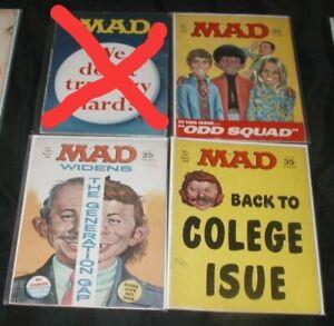Mad U-PICK ONE #127,129 or 131 EC Silver Age Magazines PRICED PER BOOK
