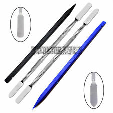 4 Pcs Metal & Plastic Spudger Set Repair Opening Pry For Tablet and Cell Phone