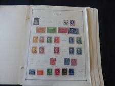 Albania 1921-1976 Stamp Collection on Scott International Pages