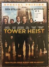 Tower Heist (DVD, 2012) Brand New!!! Factory Sealed!!!