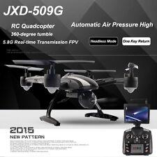 Cámara JXD 509g 6-Axis Gyro RC Drone Quadcopter RTF Con FPV HD