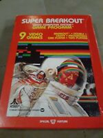 Super Breakout for Atari 2600 ▪︎ COMPLETE  IN THE BOX ▪︎FREE SHIPPING ▪︎