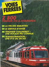 VOIES FERREES N° 103 Z 800 / TERGNIER - CHALINDREY / TRANSFORMATION  B5D UIC HO