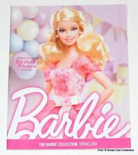 The Barbie Collection Catalog/Book Spring 2014, Cover: Birthday Wishes Muse Doll