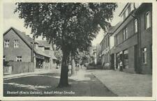 Ansichtskarte von Ebstorf Kr. Uelzen Lüneburger Heide mit A.-H.- Straße ca. 1940