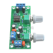 Low-pass Filter NE5532 Bass Tone Subwoofer Pre-Amplifier Preamp Board DC 12-24V