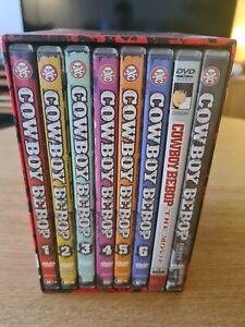 Rare Anime DVD Cowboy Bebop Complete Sessions Box Set Vol. 1-6 + Movie + Special