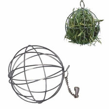 New listing Steel Treat Ball Hanging Ball Toy For Guinea Pig Hamster Rabbit Feed Dispenser