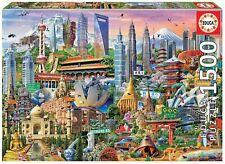 Educa simbolos de Asia 1500 piezas Ref.17979