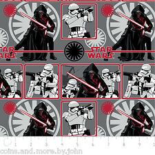 STAR WARS: THE FORCE AWAKENS - FLANNEL FABRIC - SOLD BY THE METER - CANADA - F2