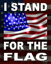 I STAND FOR THE FLAG  NFL PROTEST NATIONAL FOOTBALL LEAGUE