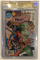 Justice League of America #200 CGC 8.0 SS Joe Kubert +George Perez +Conway +more