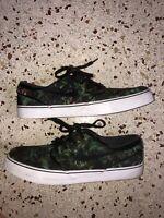 "Nike SB Stefan Janoski ""Palm Leaves"" Size 10 Preowned Clean"