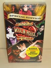 Moulin Rouge (VHS, 2002, Special Edition) - New & Sealed!