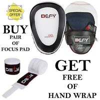 Focus Pads MMA Boxing Kick Gel Padded Punch Mitts Boxing Focus Mitts PAIR