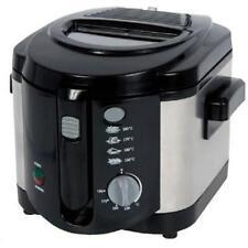 Brentwood Df-720 2.0 Liter Deep Fryer; Stainless Steel - 2.11 Quart Oil - Black,