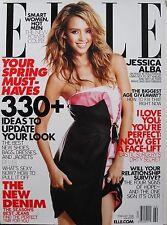 JESSICA ALBA  February 2008 ELLE Magazine