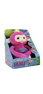 FIngerlings Hugs Bella Pink Monkey Plush Interactive Speaking Cuddly Hugging Toy