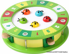VOILA TOY wooden game ladybugs HOPPING BUGS activity toy boys & girls kid's GIFT