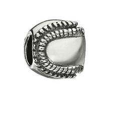 Chamilia Baseball Bead In 925 Sterling Silver, GD-2
