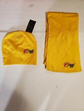 Coogi Yellow Beanie Hat & Scarf