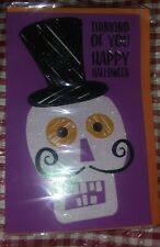 NEW THINKING OF YOU HAPPY HALLOWEEN CARD WITH ENVELOPE HOLIDAYS TRICK OR TREAT
