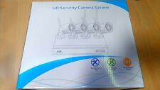4 Channel 1080p Wireless CCTV Security System Kit