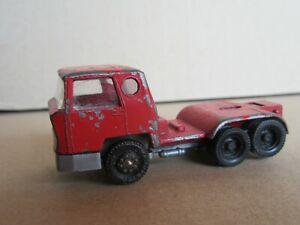 615Q Majorette France Tractor Bernard Tda 160 Red 1:100