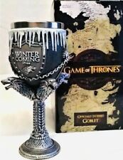Game of Thrones Official Hbo merchandise House Stark Winter is coming Goblet