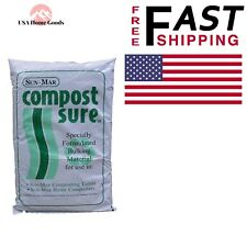 Natural Green Toilet Compost Starter Sun-Mar Sure Composting Composter Waterless